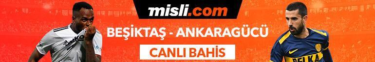 Beşiktaş - Ankaragücü maçı canlı bahis heyecanı Misli.comda