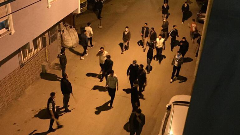 Bursada aileler arasında kavga 15 kişiye kısıtlama ihlali cezası