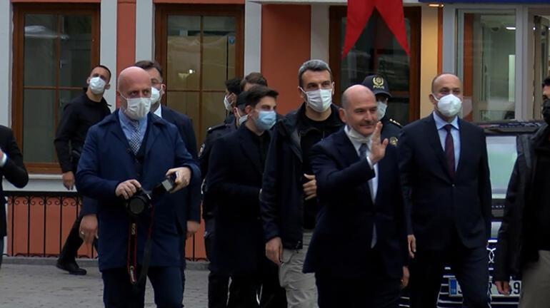 Cumhurbaşkanı Erdoğan ve Bakan Soyludan Çengelköy Polis Merkezi'nde iftar