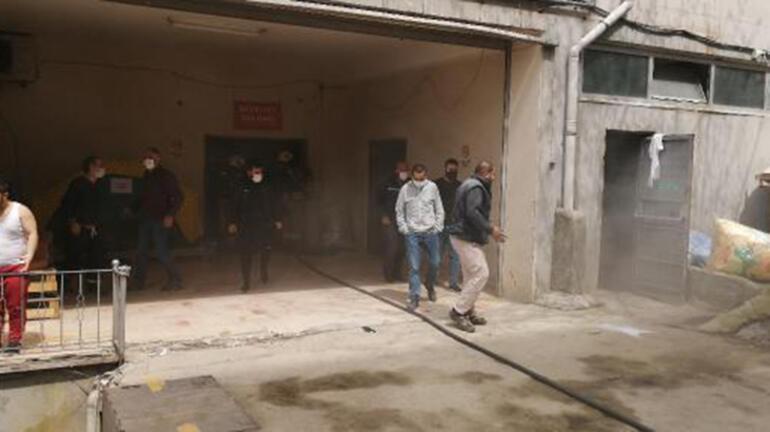 Son dakika İstanbulda fabrikada patlama