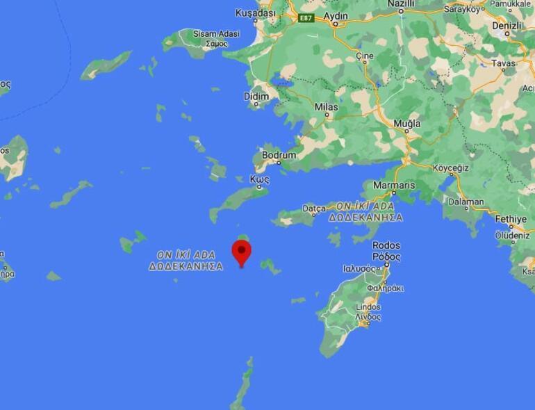 Son dakika Muğla açıklarında 3.9 büyüklüğünde deprem