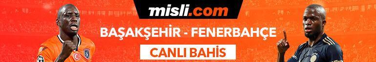 Başakşehir-Fenerbahçe maçı Tek Maç ve Canlı Bahis seçenekleriyle Misli.comda