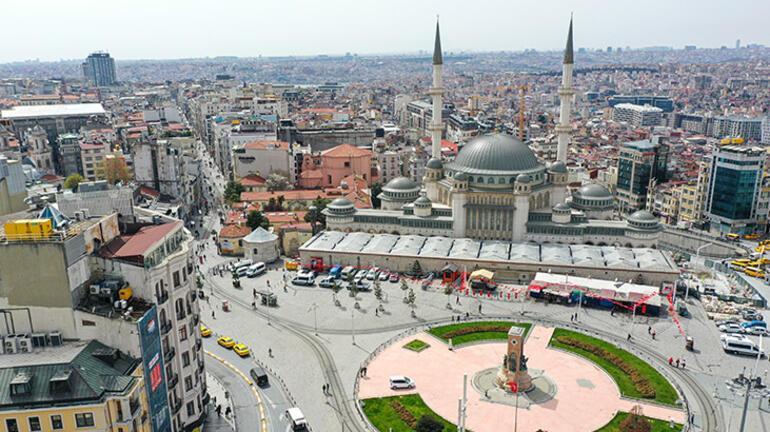 Taksim Meydanına yapılan cami ramazanın son cuması ibadete açılıyor