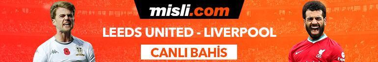 Leeds United-Liverpool maçı Tek Maç ve Canlı Bahis seçenekleriyle Misli.comda
