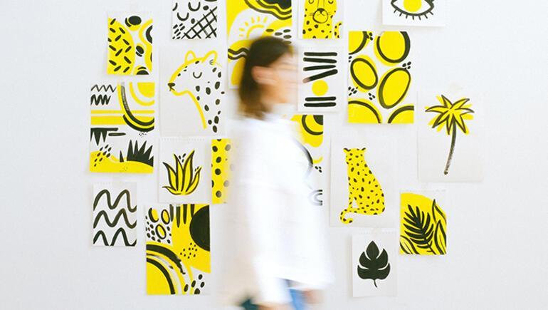 Duvarınıza sanatçı ruhunuzu yansıtın