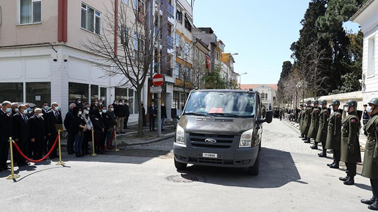 Eski Genelkurmay Başkanı Mustafa Necdet Üruğ, son yolculuğuna uğurlandı
