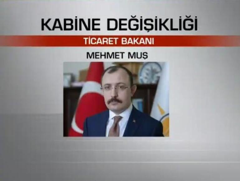 Son dakika: Kabine değişikliği açıklandı İşte atanan yeni isimler