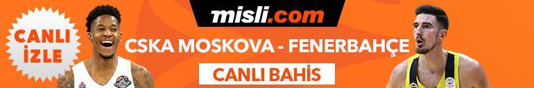 CSKA Moskova - Fenerbahçe Beko maçı canlı bahis heyecanı Misli.com