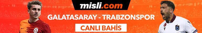Galatasaray - Trabzonspor maçı canlı bahis heyecanı Misli.comda
