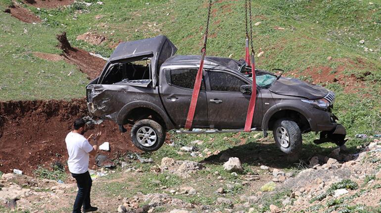 Siirtte feci kaza Devrilen pikabın sürücüsü hayatını kaybetti
