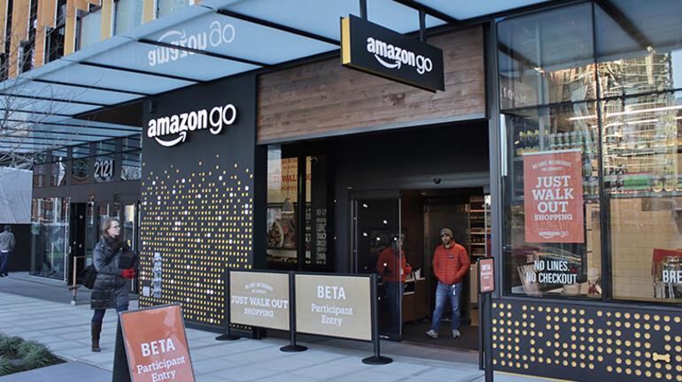 Amazon avuç içi ödeme teknolojisi için düğmeye bastı