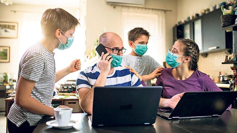 Pandemisürecinde tükenen anne babalar