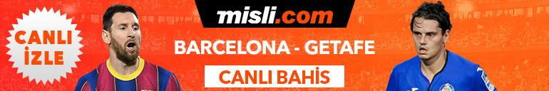 Barcelona-Getafe maçının heyecanı Tek Maç ve Canlı Bahis seçenekleriyle Misli.com'da
