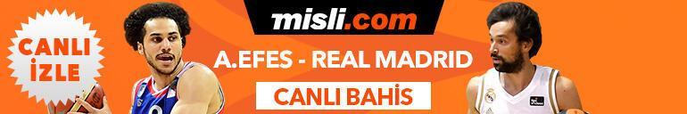 Anadolu Efes - Real Madrid maçının heyecanı Misli.comda