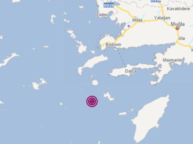 Son dakika Ege Denizinde korkutan depremler