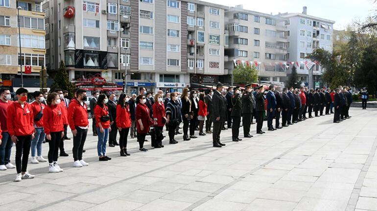 Trakya'da 23 Nisan törenlerle kutlandı