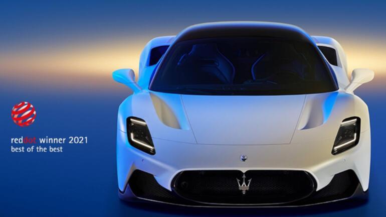 Maserati MC20'ye büyük ödül