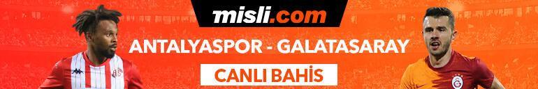 Antalyaspor - Galatasaray maçıTek Maç ve Canlı Bahis seçenekleriyle Misli.com'da