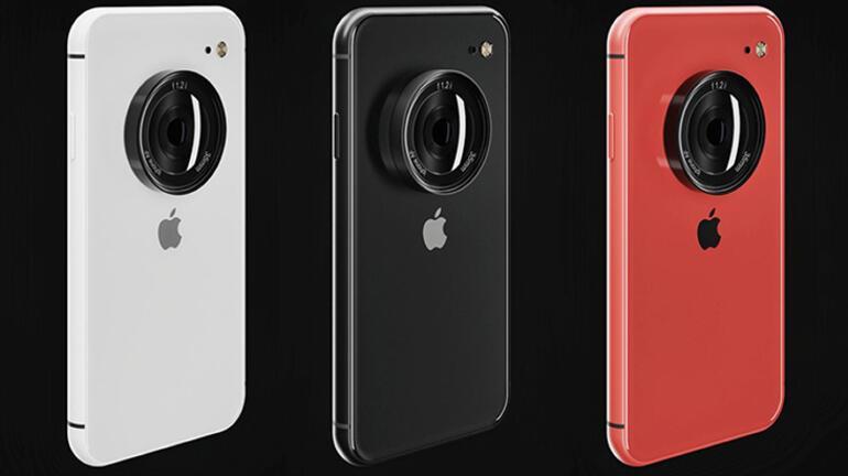 iPhonea tepegöz görünümünde tek lens eklenirse nasıl olur