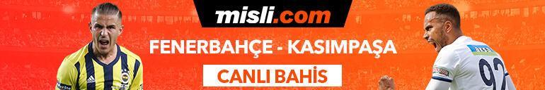 Fenerbahçe-Kasımpaşa maçı Tek Maç ve Canlı Bahil seçenekleriyle Misli.comda