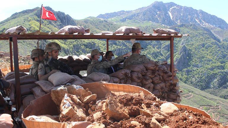 Siirt Valisinden üs bölgelerindeki Mehmetçiğe moral ziyareti