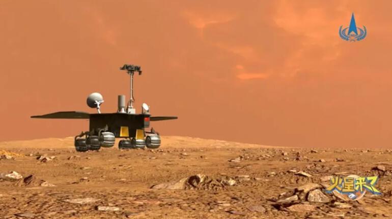 Çinin Mars gezgini için isim belli oldu