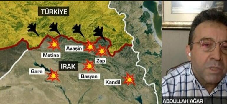 Son dakika... Irakın kuzeyinden yeni haber Teröristler cıyak cıyak...