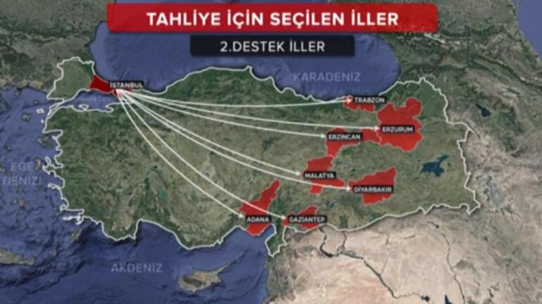 Son dakika... İstanbul için dev hazırlık başladı İşte vatandaşların tahliye edileceği iller...