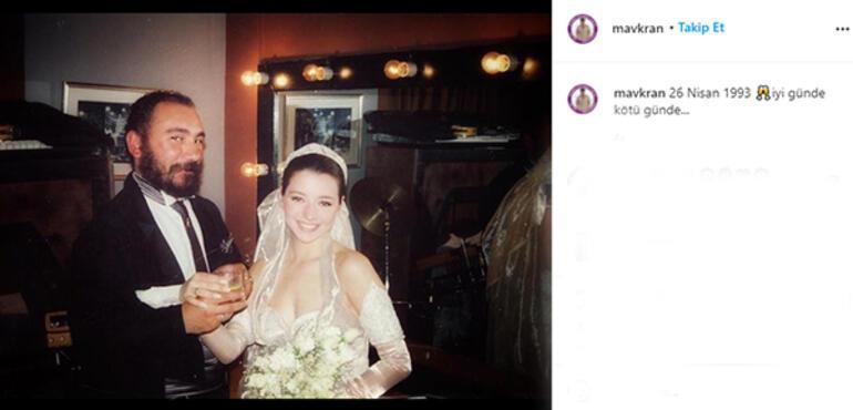 Mustafa-Övül Avkırandan evlilik yıl dönümü paylaşımı