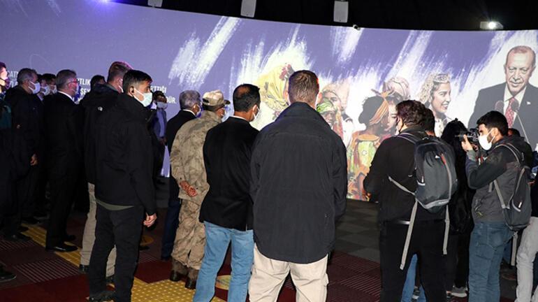 Vanda 23 Nisan temalı Dijital Gösterim Merkezi açıldı