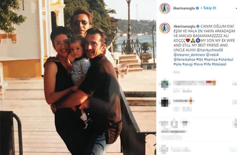 Canım oğlum, eski eşim ve yakın arkadaşım Ali Koç
