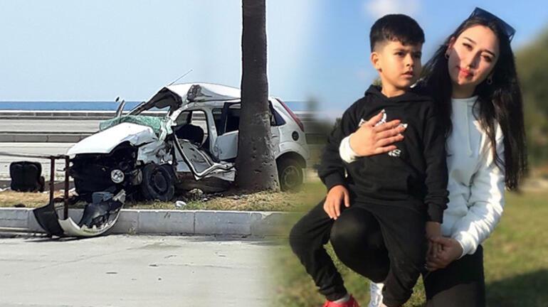 Doğum günü alışverişine giderken kazada öldü Oğlu ve 4 yakını yaralandı