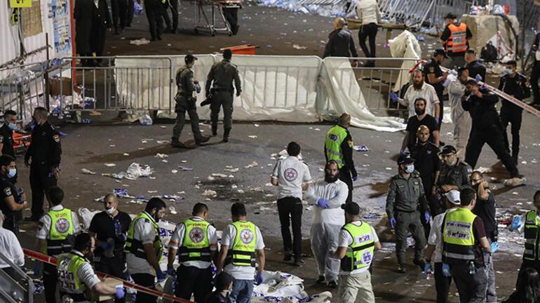 Son dakika: İsrailde bayram kutlamaları sırasında facia: Çok sayıda ölü var