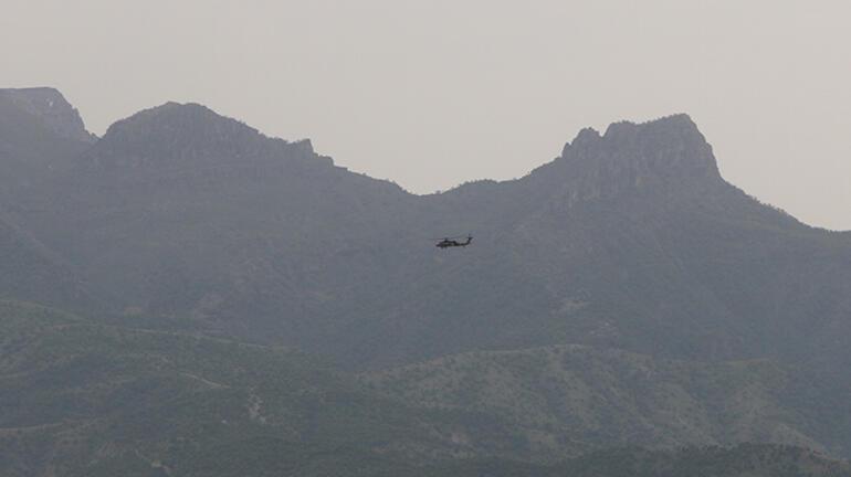 Son dakika haberi: Pençe ve Eren operasyonlarının sürdüğü Şırnakta askeri hareketlilik