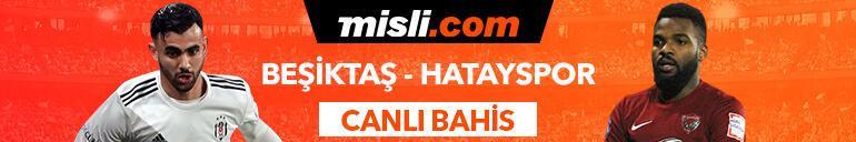 Beşiktaş - Hatayspor maçı canlı bahis heyecanı Misli.comda