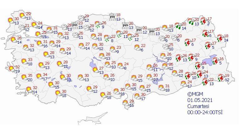 Son dakika... Akdenizden sonra şimdi de Marmara Bunaltıcı sıcaklıklar geliyor