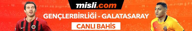 Gençlerbirliği-Galatasaray maçı Tek Maç ve Canlı Bahis seçenekleriyle Misli.com'da
