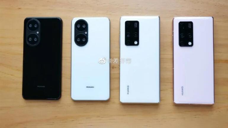 Huawei P50 kendine has bir arka kamera tasarımıyla gelecek