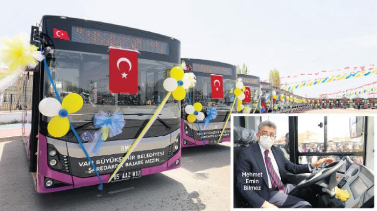 Büyükşehir Belediyesi gücüne güç kattı