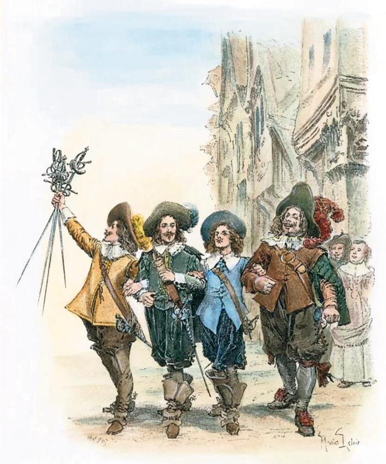 'Üç Silahşörler' ve korona
