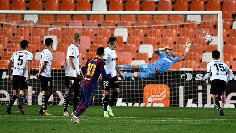 Son dakika - Messi coştu, Barcelona Valenciayı yıktı