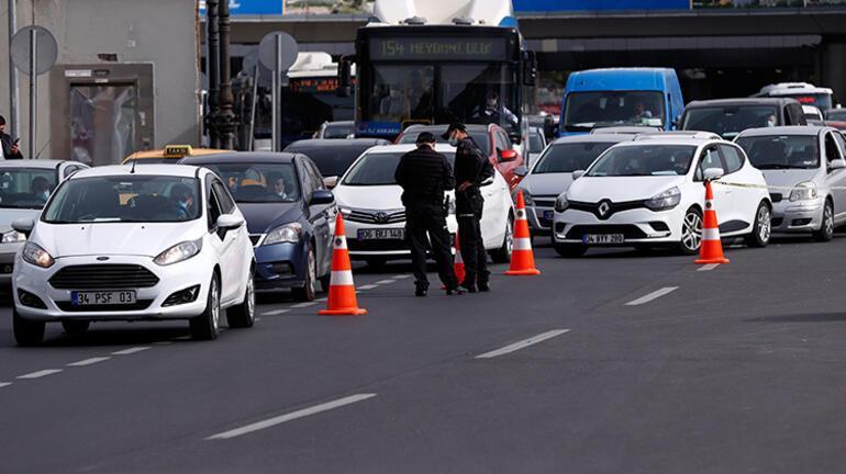 İstanbulda tam kapanma trafik yoğunluğunu azalttı