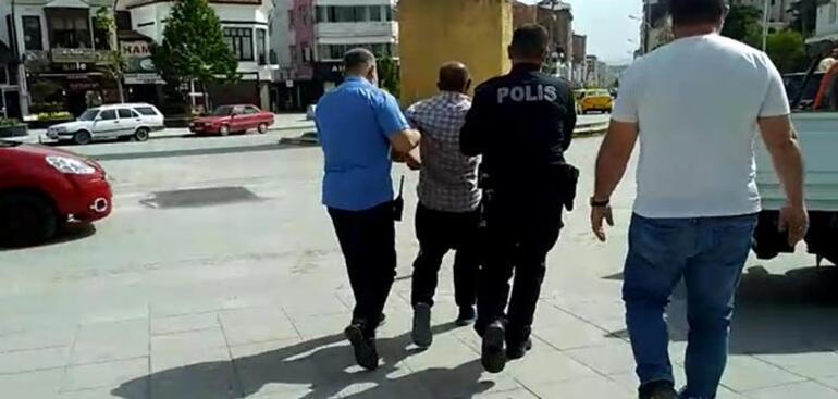 Alkollü şahış, polise zor anlar yaşattı