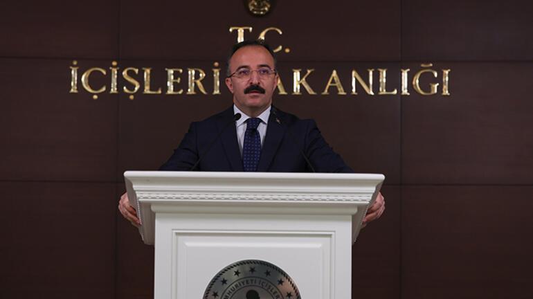 Son dakika İçişleri Bakanlığı Sözcüsü Çataklıdan Alparslan Kuytul açıklaması