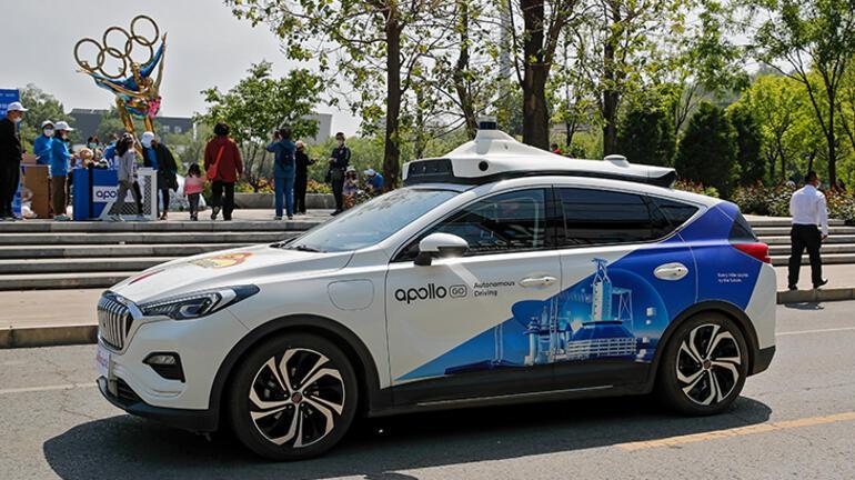 Teknoloji şirketi Baidu ülkede sürücüsüz Robotaxi için düğmeye bastı