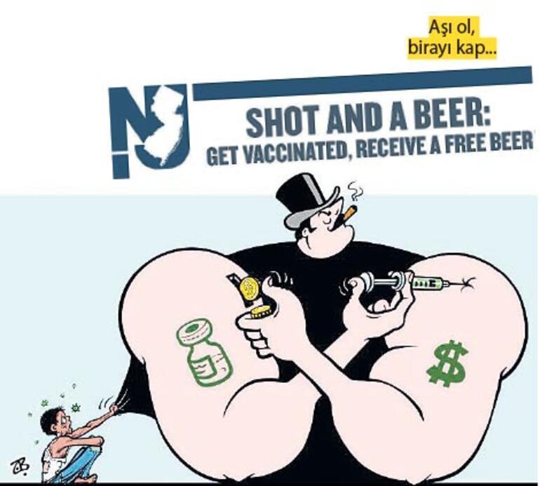 Bir aşı, bir bira..