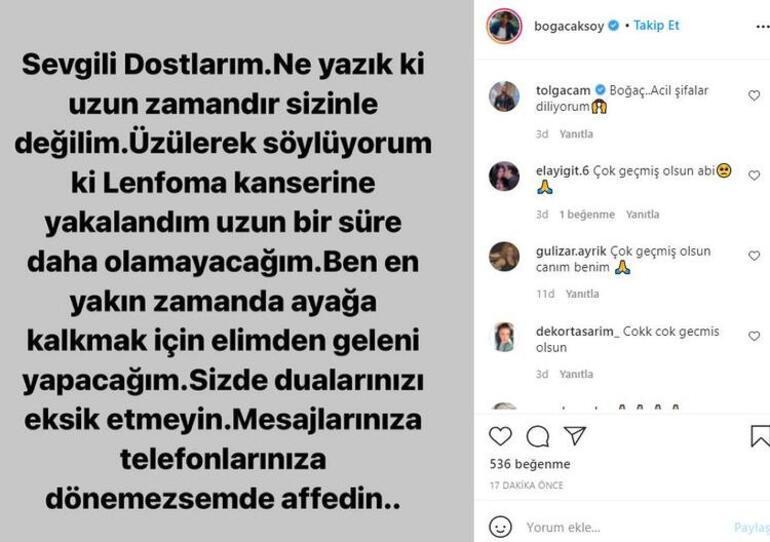 Boğaç Aksoy kimdir, nereli, kaç yaşında Boğaç Aksoy hastalığını sosyal medya üzerinden duyurdu