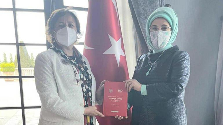 Emine Erdoğandan, gıda bankacılığının yaygınlaştırılmasına destek