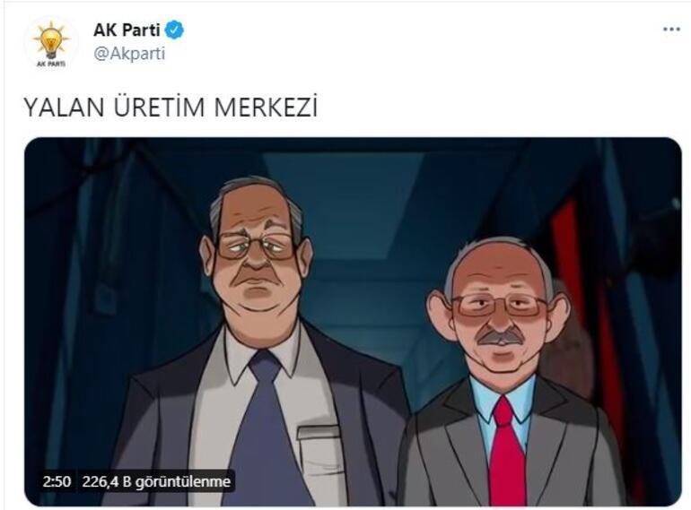 Son dakika... AK Parti paylaştı İşte saat 14.00te yayınlanan video