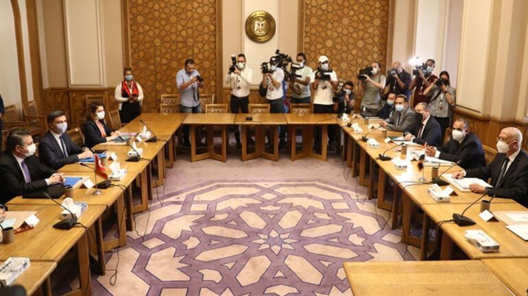 Son dakika: Türk heyeti ile Mısır arasında görüşmeler başladı